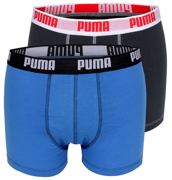 1accaf9a9b7 PUMA boxers Blauw / Antraciet (2 pack)