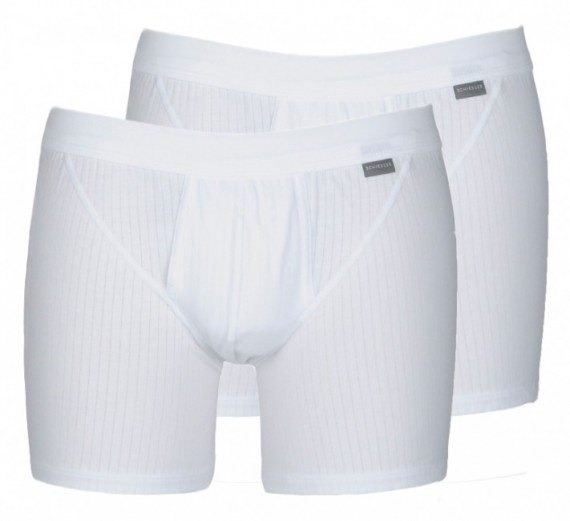 Schiesser Boxers Essential 2-pack (wit)