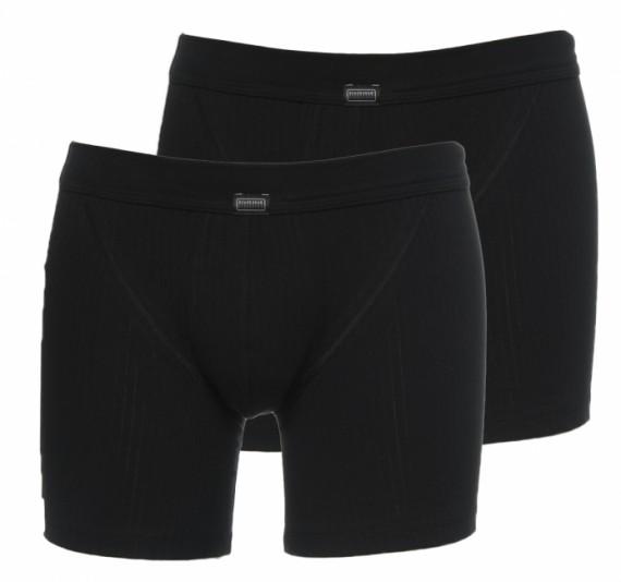 Schiesser Boxers Essential 2-pack (zwart)