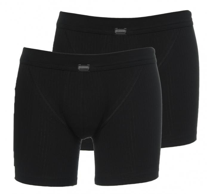 1b273d32deb Schiesser Boxers Essential 2-pack (zwart)