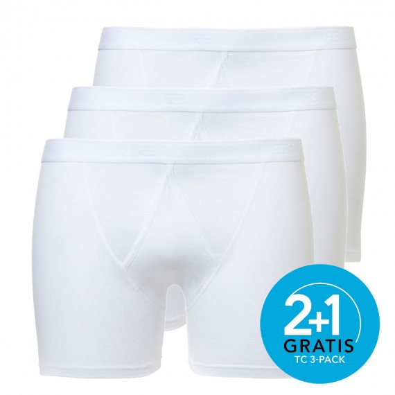 Ten Cate boxers Basic 3-pack (wit)