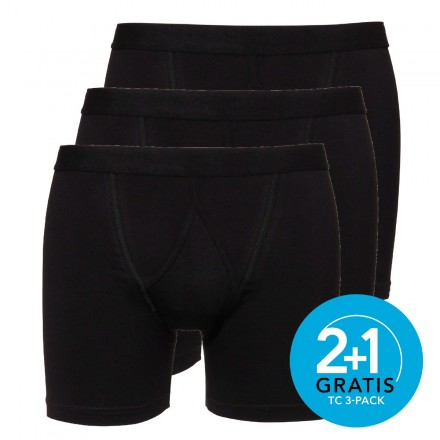Ten Cate boxers Basic 3-pack (zwart)