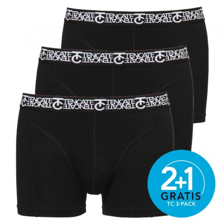 Ten Cate boxers Short 3-pack (zwart)