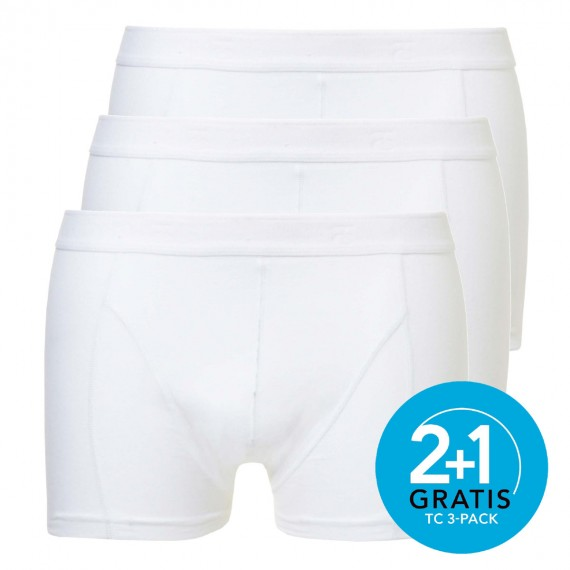 Ten Cate boxers Shorty 3-pack (wit)