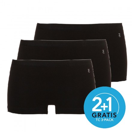 Ten Cate dames boxers 3-pack (zwart)