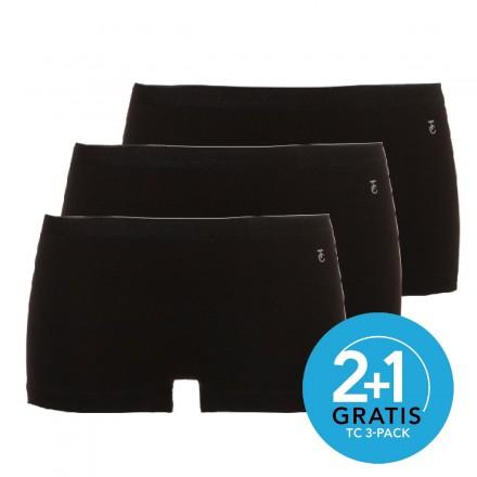 Ten Cate dames boxers 3-pack (zwart)