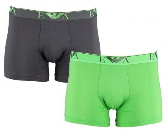 Armani heren boxer 2-pack (Groen/grijs)