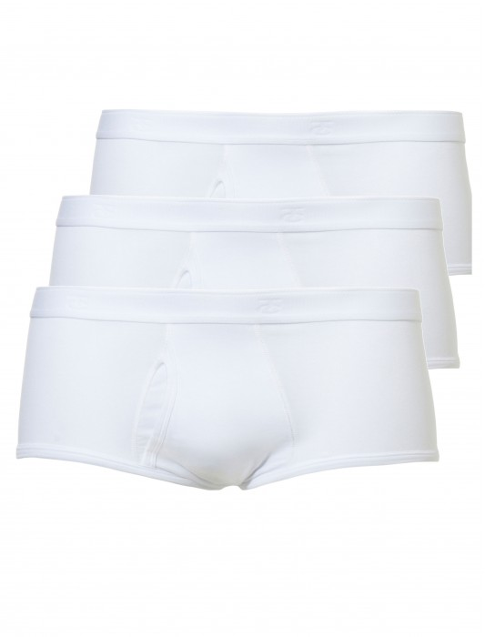 Heren classic brief/slip 3-pack – wit