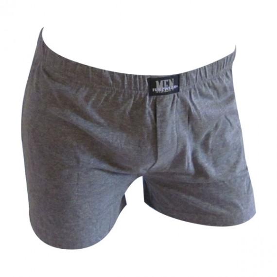 Plain boxer wide – grijs