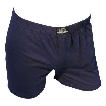 Plain boxer wide - marine