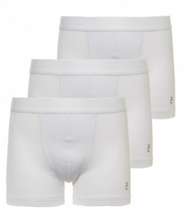 jongens boxer 3-pack - wit