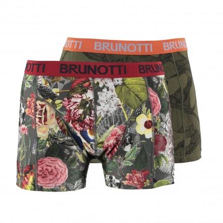 Brunotti Boxers 2-pack (bloem / groen)