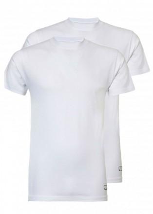 Heren T-shirt 2-pack - wit