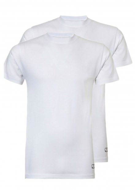 Heren T-shirt 2-pack - wit
