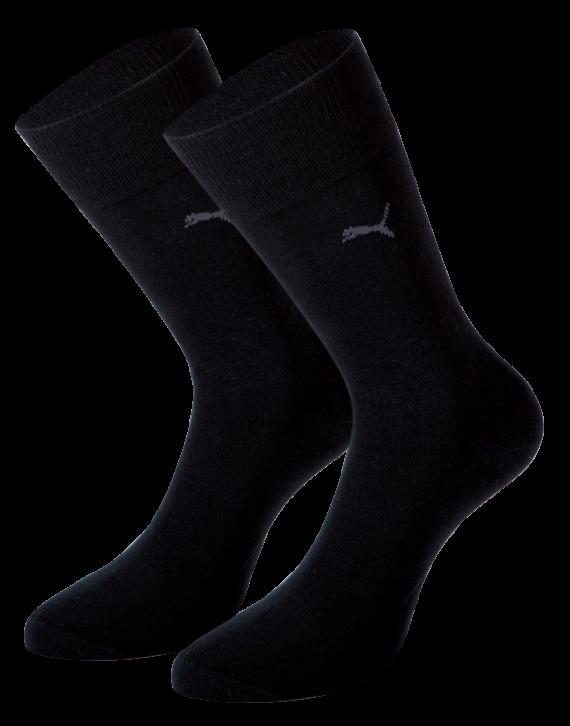Puma Classis sok 2 pack (zwart)