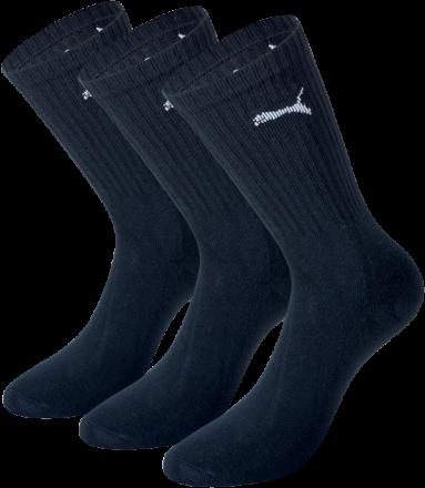 Puma Sport sok 3 pack (zwart)