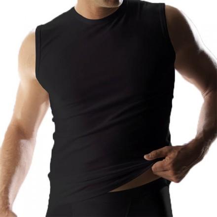 RJ Mannen mouwloos t-shirt (zwart)