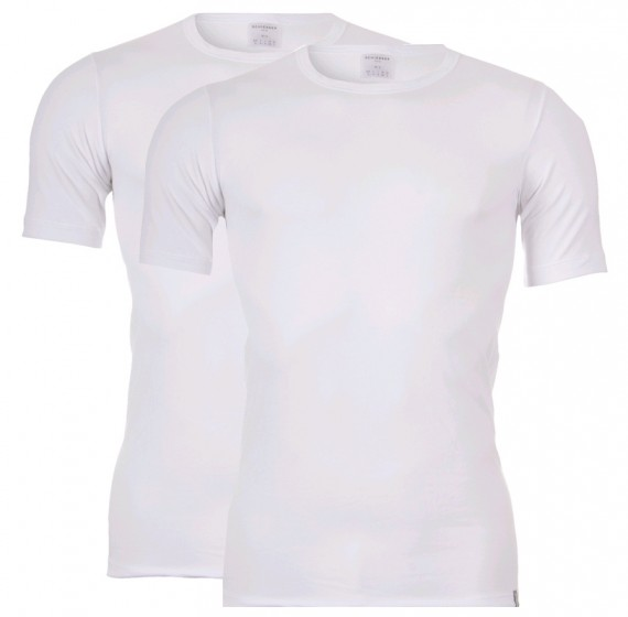 Schiesser Heren T-Shirt 95/5 (wit)