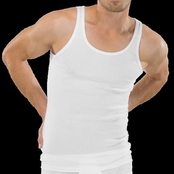 Schiesser hemden (wit / 2-pack)