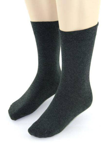 Schiesser sokken antracite 2-pack