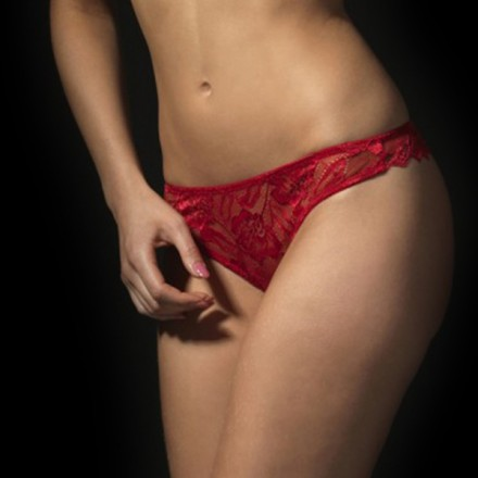 After Eden anna lace string 10358166 rood