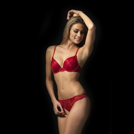 After Eden anna lace string 10358166 rood met bh
