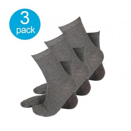 Apollo dames sokken grijs