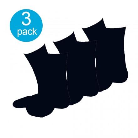 Apollo dames sokken zwart 3-pack
