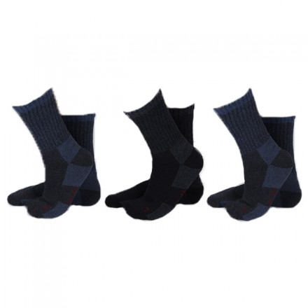Apollo thermo sokken 3-pack marine