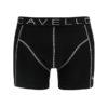 Cavello heren boxershorts 2-pack zwart