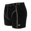 Cavello heren boxershorts 2-pack zwart zijkant