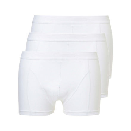 3401 Mannen boxershorts 3-pack wit