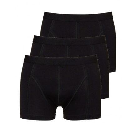 3401 Mannen boxershorts 3-pack zwart