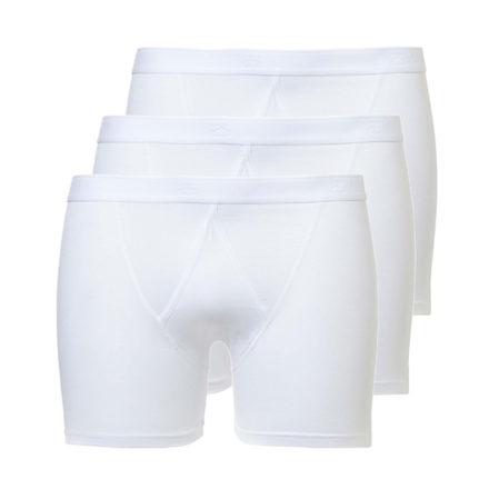 3402 Basic Boxershort Fly 3-pack wit