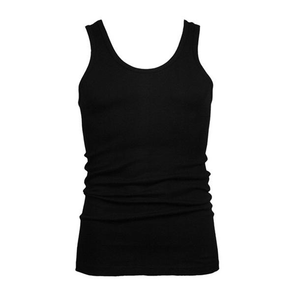 zwart heren hemd