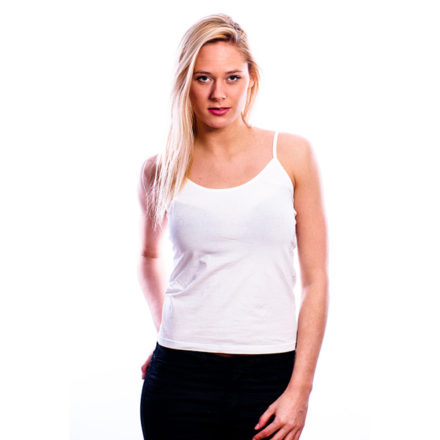 RJ Bodywear Dames Topje 32-002-wit