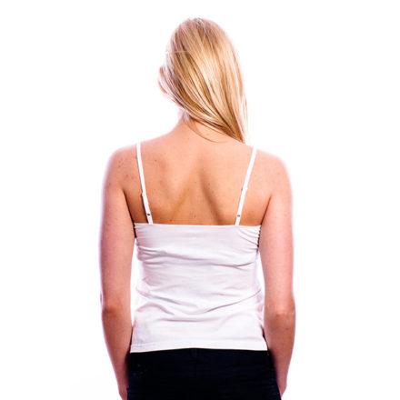 RJ Bodywear Dames Topje wit 32-002