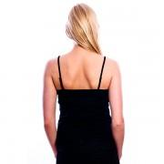 RJ Bodywear Dames Topje zwart 32-002